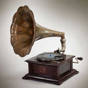 Gramophone - an example of vintage gadgets