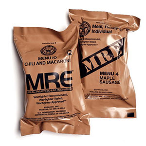 Meals Ready-to Eat - MRE