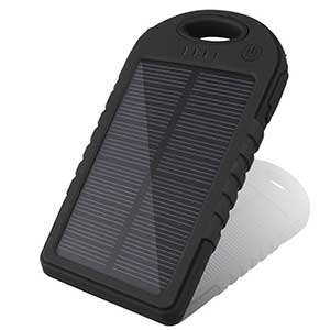 Solar Battery Charger 5000mAh