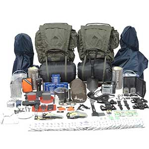 Survival Gears For Two Persons