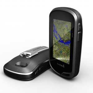 The Garmin Oregon 650t