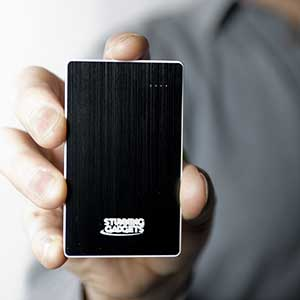 The Metal Super-Slim Power Bank