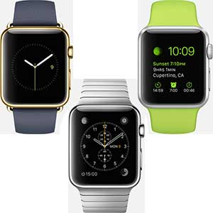 Three Distinctive Apple Watch Collection