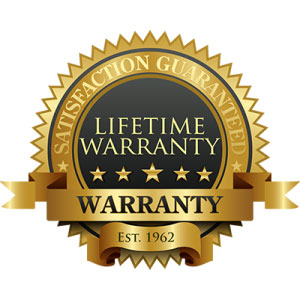Always buy products that come backed by a warranty or guarantee