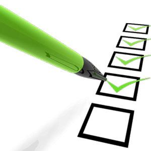 Make a list and a budget