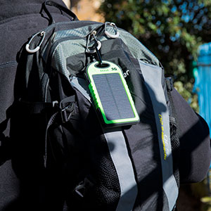 SG 5000mAh Solar Battery Charger