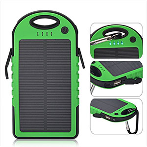 Stunning Gadgets 5000mAh Solar Battery charger