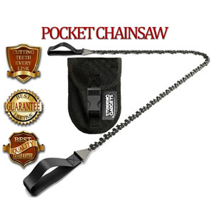 Pocket Chainsaw Survival Gear