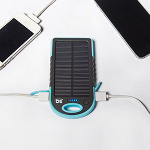SG Green Portable Charger