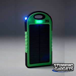 Stunning Gadgets 5000 mAh Solar Battery Charger
