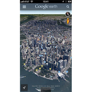 Smartphone Survival Apps Google Earth