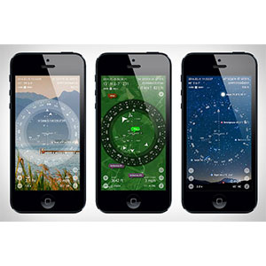 Smartphone survival apps Smart Compass / Spy Glass